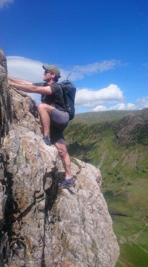 cam crag, english lake district