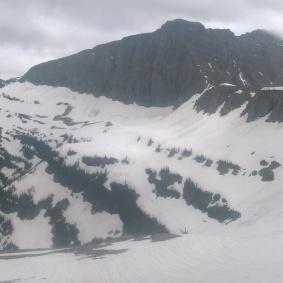 the view from the top of triple divide pass