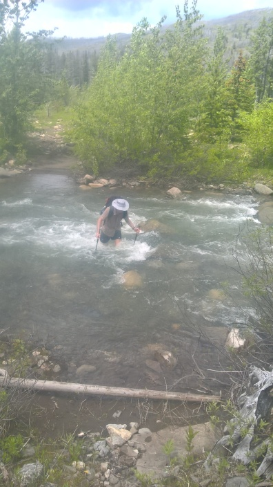 river crossings- one of over 25 that day