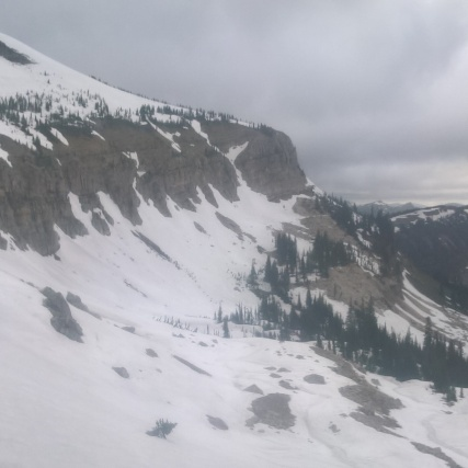 Towards the top of Switchback Pass