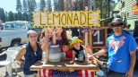 lovely family that gave me lemonade from a home made stand