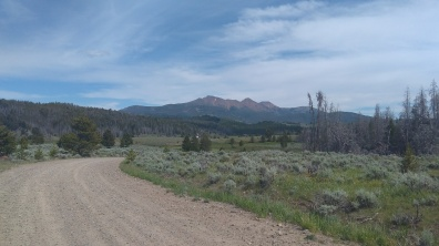 awesome gravel road cycle from butte to wise river