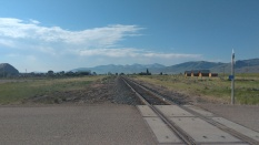 view towards Lima from Railroad Crossing