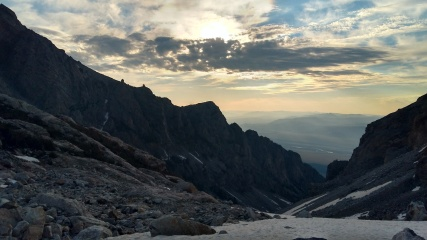 morning up in the tetons.