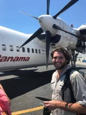 flying panama to Colombia