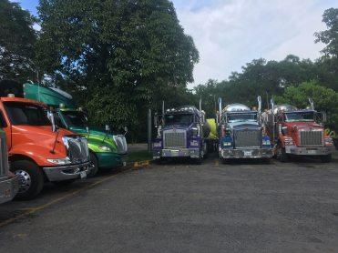 shiny new trucks