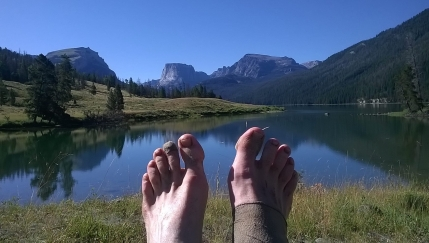 My feet after 900miles on the CDT