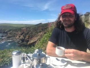 tea on the Cornwall Coast